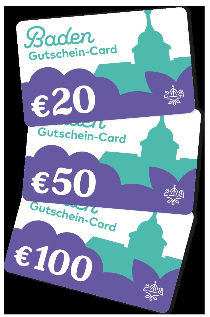 Baden Gutschein-Card