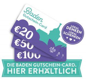 Baden Gutschein Card