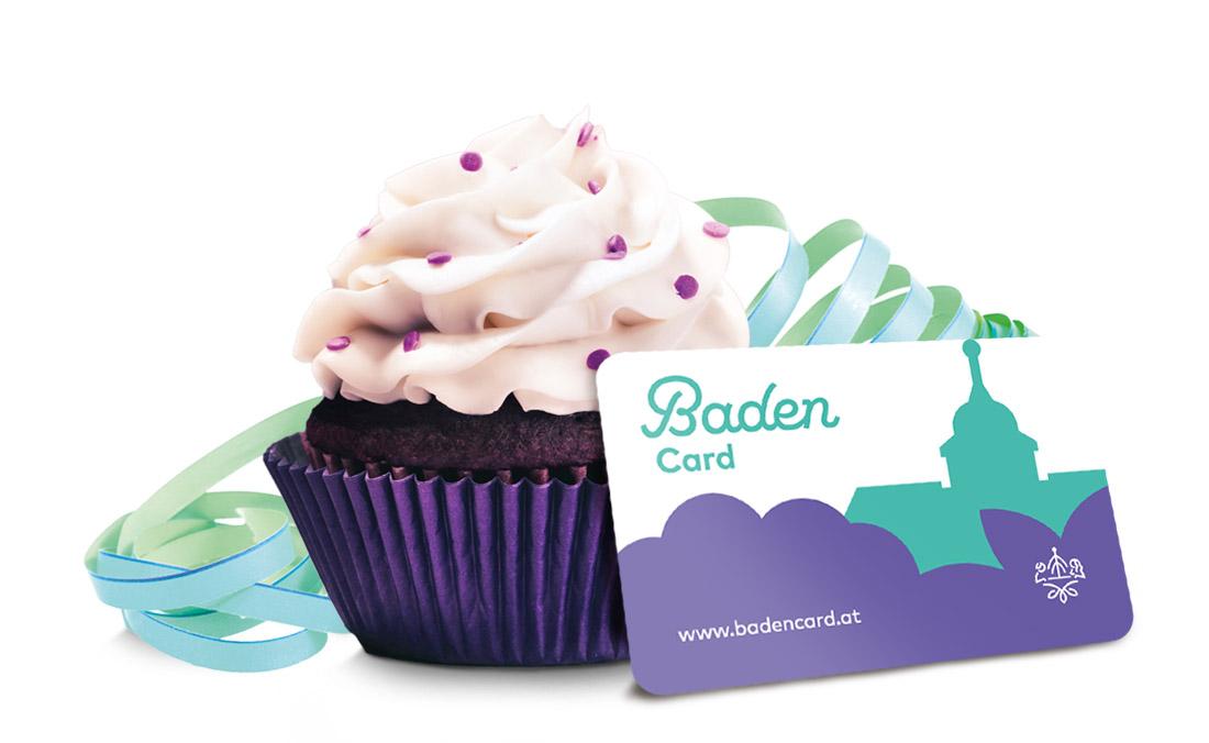 Baden Card Cupcake
